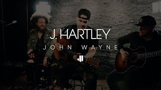 """J.hartley performing """"john wayne"""" live in-studio.purchase/stream the acoustic ephttp://smarturl.it/jhacoustic"""