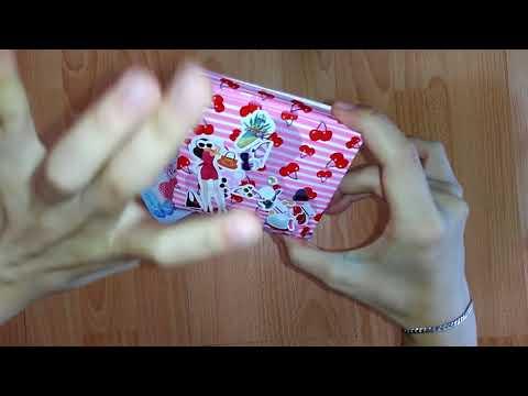 Как сделать футляр для прокладок своими руками
