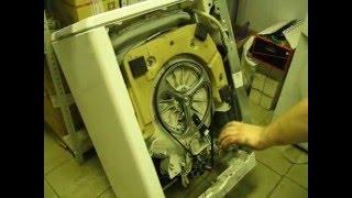 Пральна машина не запускається, заміна щіток в двигуні