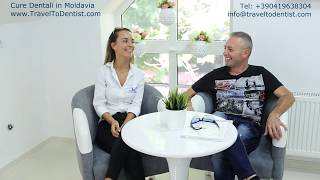 Dental implants in Moldova – without fear and pain