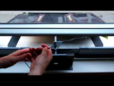 How to install Perch - Use your portable solar panel in a double hung window