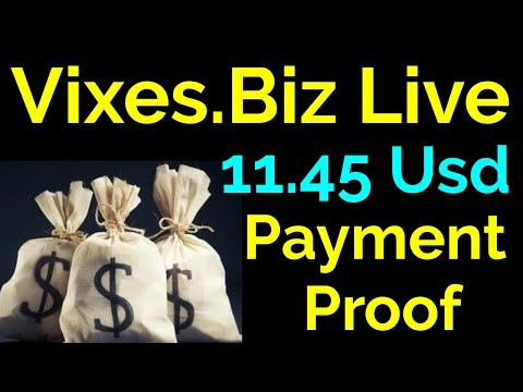 Vixes.Biz Live 11.45 Usd Payment Proof