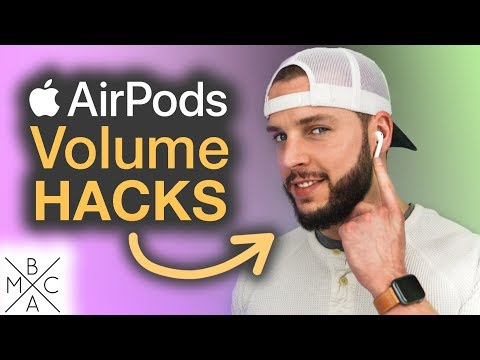 3 QUICK & EASY Ways To Control AirPods VOLUME!