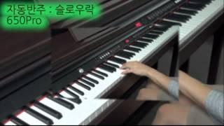다이나톤 디지털피아노 650Pro 자동반주
