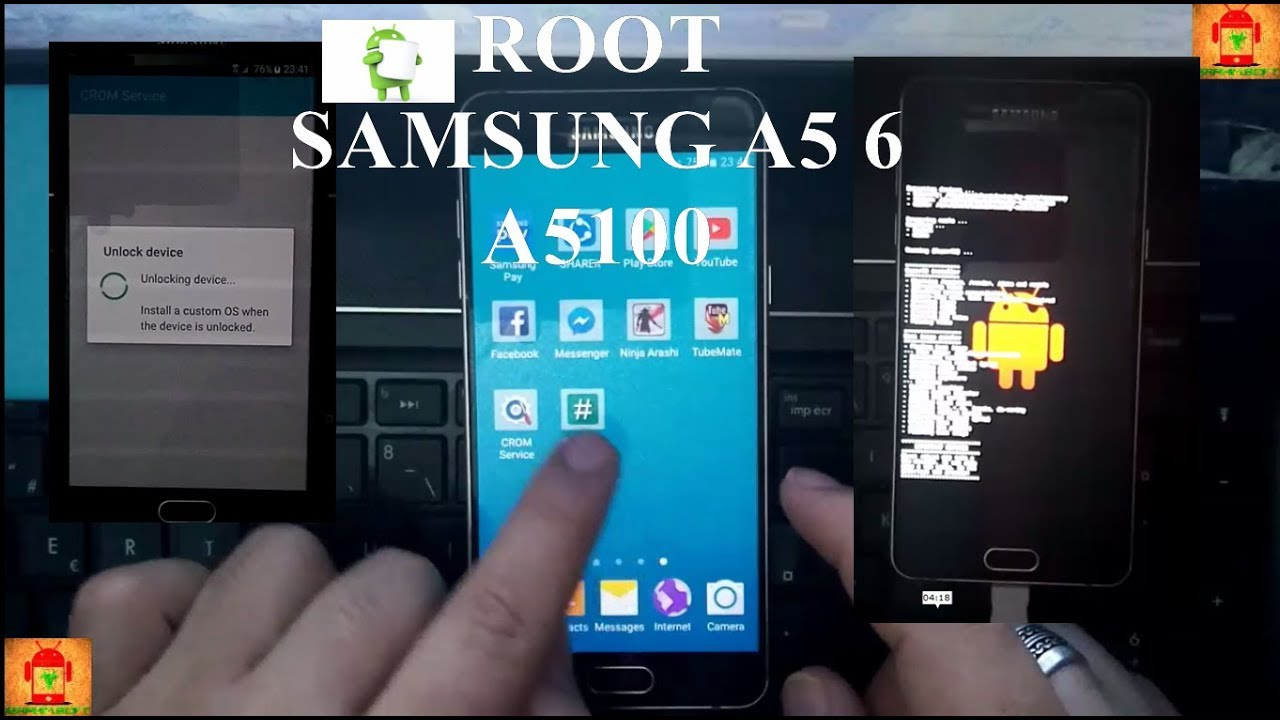 Root Samsung Galaxy A5 6 A5100 Marshmallow 6 0 1 unlock bootloader & root  by IBRAHIM SOFT
