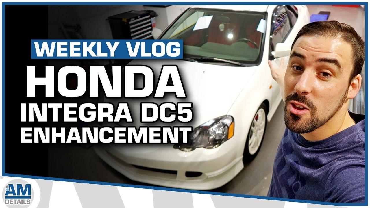 Honda Integra Type R DC5   Machine Polishing, Detailing U0026 Protection