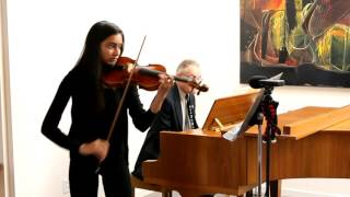 J Svendsen, Romance Op  26 in G Major by Chitra Dassapa 2015 10 25