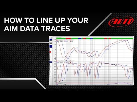 AiM Race Studio Analysis - GPS Lap Insert
