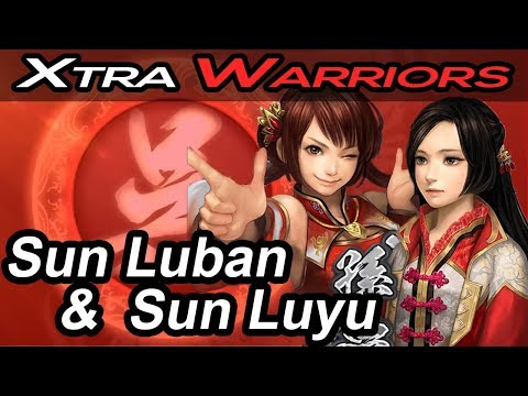 Sun Luban & Sun Luyu - Xtra Warriors