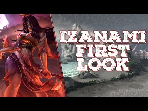 SMITE Izanami Gameplay | PTS First Look