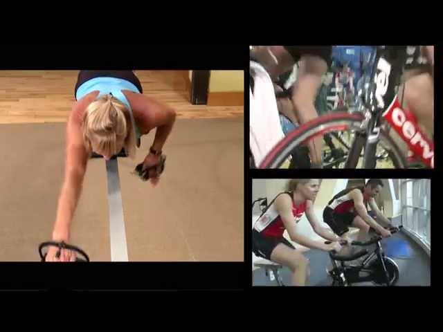 Triathlon Training: Swim to Bike Brick indoor workouts