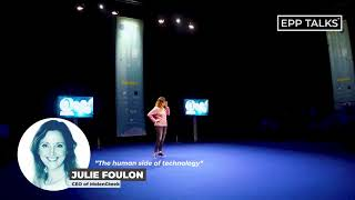 EPP Talks Helsinki - Julie Foulon - Episode 2 - The human side of technology