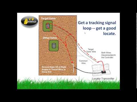 Detailed How to Use a Wire and Valve Locator Tracker to Find Lost Solenoids Valves Armada