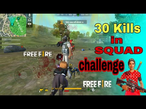 Solo Vs Squad Best Match  Free Fire | Free Fire Solo vs Squad Match | Free Fire Gameplay Video Top