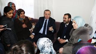 Cumhurbaşkanı Erdoğan'ın Çay Davetini Geri Çevirmedi
