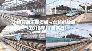 白石蔵王駅で撮った新幹線集
