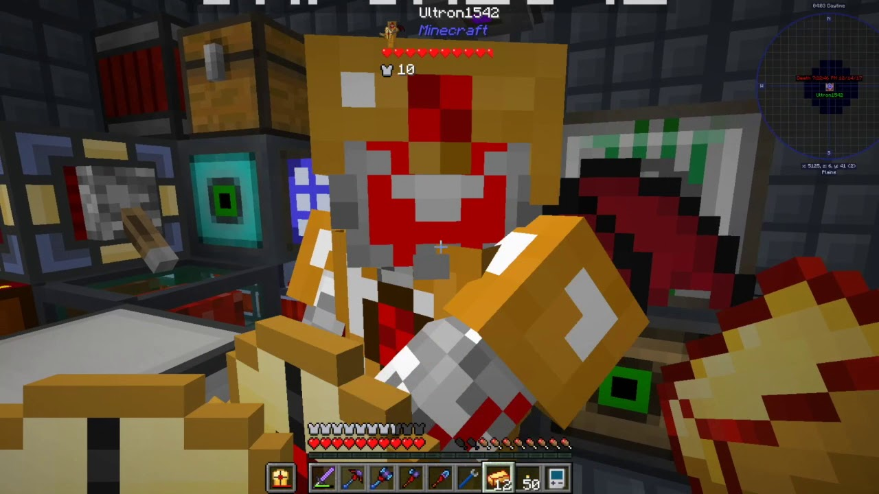 Better Armor and PSI | FTB Direwolf20 1 12 pack Ep 15 W/ Ultron1542