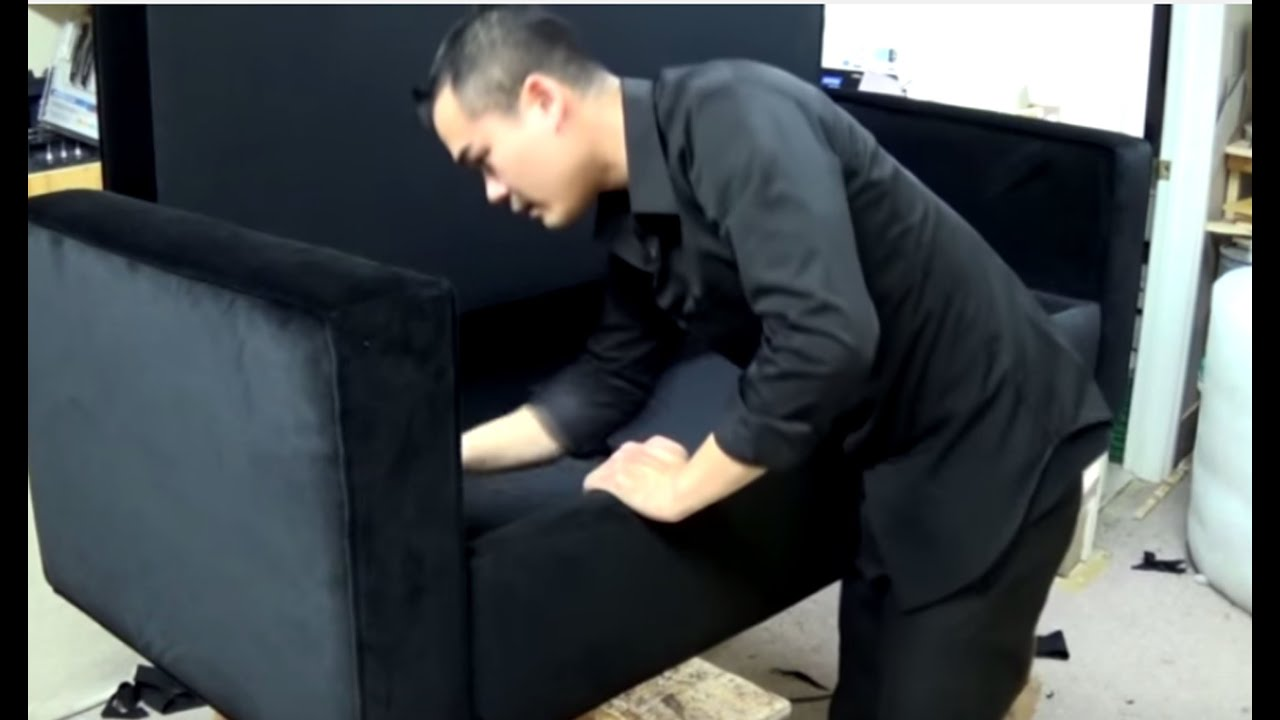 DIY: BENCH WITH STORAGE SPACE AND ARMS. DANIELLE B.   ALO Upholstery    YouTube