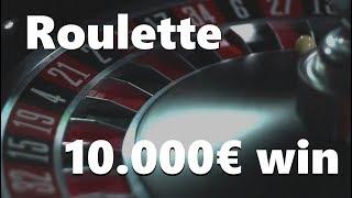 Roulette 10.000€ WIN ✔