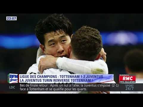 After Foot du mercredi 07/03 – Partie 2/4 - Débrief de Tottenham/Juventus (1-2)