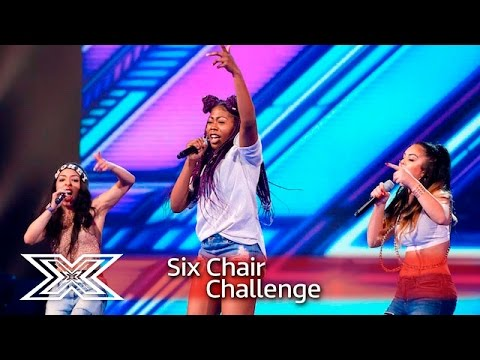 Skarl3t battle it out with Jessie J's Bang Bang!   Six Chair Challenge   The X Factor 2016