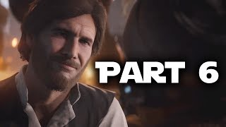 Star Wars Battlefront 2 Gameplay Walkthrough Part 6 - HAN SOLO WITH A BEARD (Single Player Campaign)