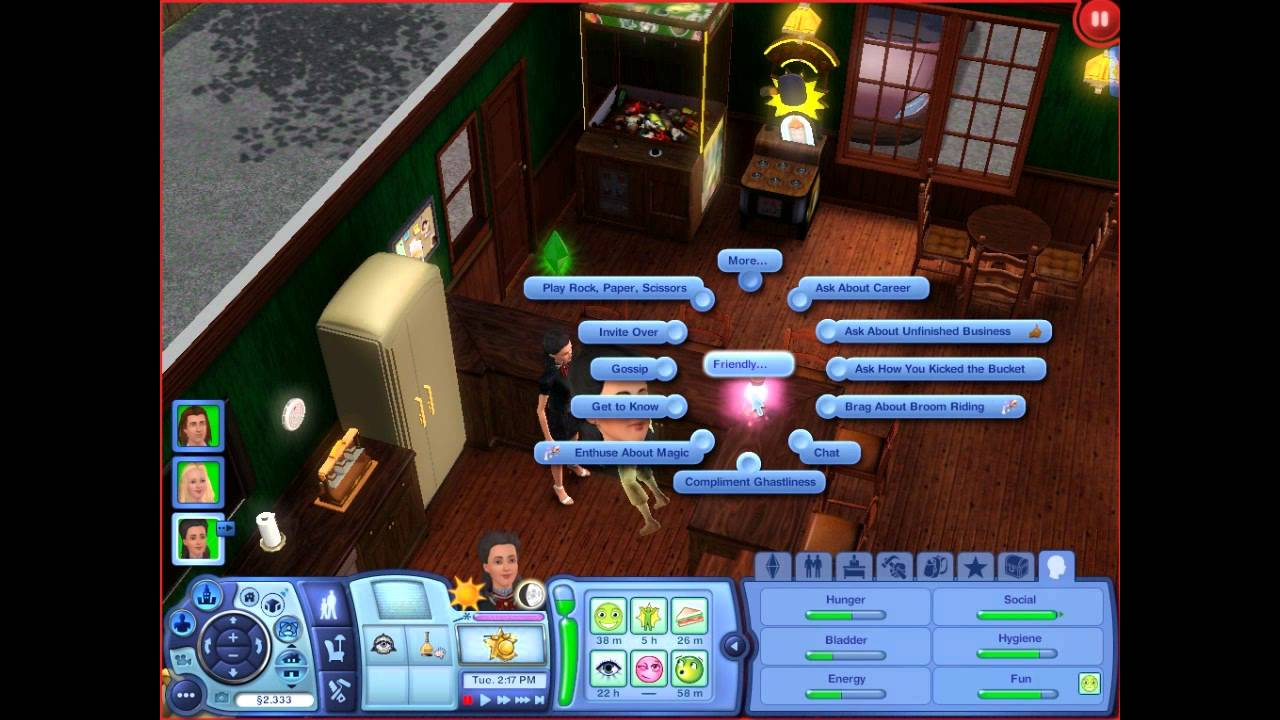 Let's Play The Sims 3 Supernatural (Part 3) - Mood Lamp - YouTube
