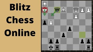 Chess Blitz Online game: Playing somebody under my strength!
