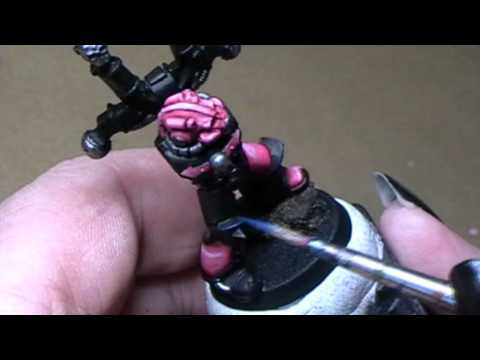 How to paint a Emperor´s Children Noise Marine Chaos Space Marine