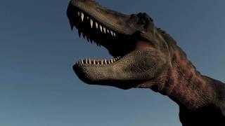 Dinosaur Test Video CGI / 3D Jurassic Dinos
