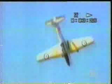 De Haviland DHC-1 Chipmunk  crash at Wanaka