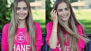 Уход за волосами и наращивание волос ♥(Nexxus Therappe Luxury Moisturizing шампунь: http://bit.ly/12bpzlW MOROCCAN OIL Moisture Repair кондиционер: http://bit.ly/1198RRl Tangle Teezer: ..., 2013-07-22T10:01:14.000Z)