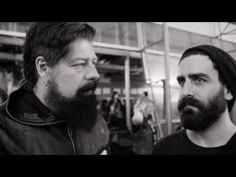 Jim Root and Drew Goddard INVADE TV BACKSTAGE SPECIAL