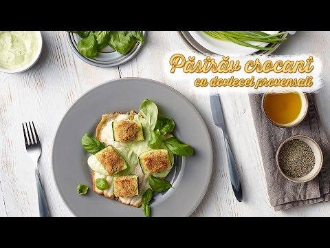 Pastrav crocant cu dovlecei • Bucataria Lidl cu Chef Florin si Andrei