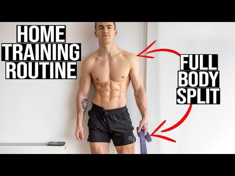 MY NEW DAILY TRAINING ROUTINE (stuck at home) | **free download**