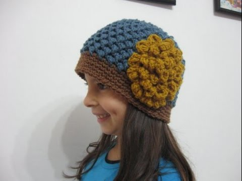 3c46f9d88f1 Butterfly Stitch Beanie REVISED - Crochet Tutorial - REDONE in HD ...