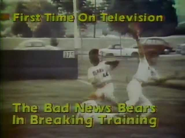 ABC promo Bad News Bears in Breaking Training 1980