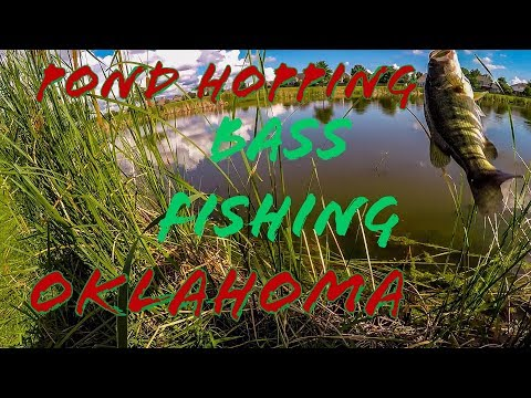 Extreme Pond Hopping For BASS! (Tulsa/Broken Arrow Oklahoma) My Favorite Bait To Throw In Summer!