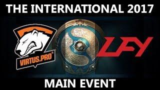 VP vs LFY GAME 2, The International 2017, LFY vs VP