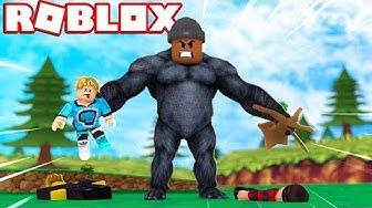 KING OF THE JUNGLE!! | Roblox Gorilla Simulator