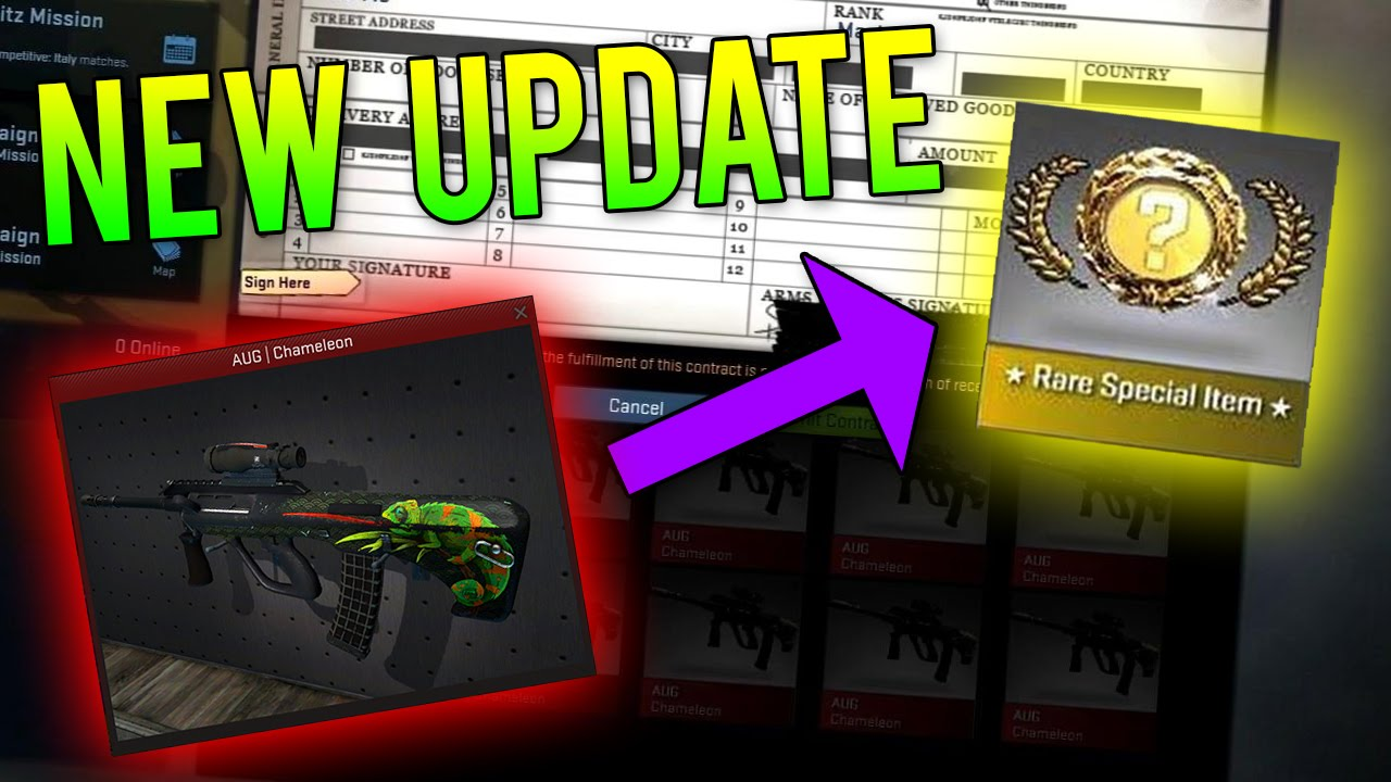 NEW REDS TO KNIVES TRADE UP CONTRACT UPDATE! (CS:GO April Fools)