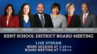 KSD Board MeetingWork Session 11 13 2019