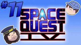 Space Quest IV: Ms. Astro Chicken - PART 11 - Steam Train