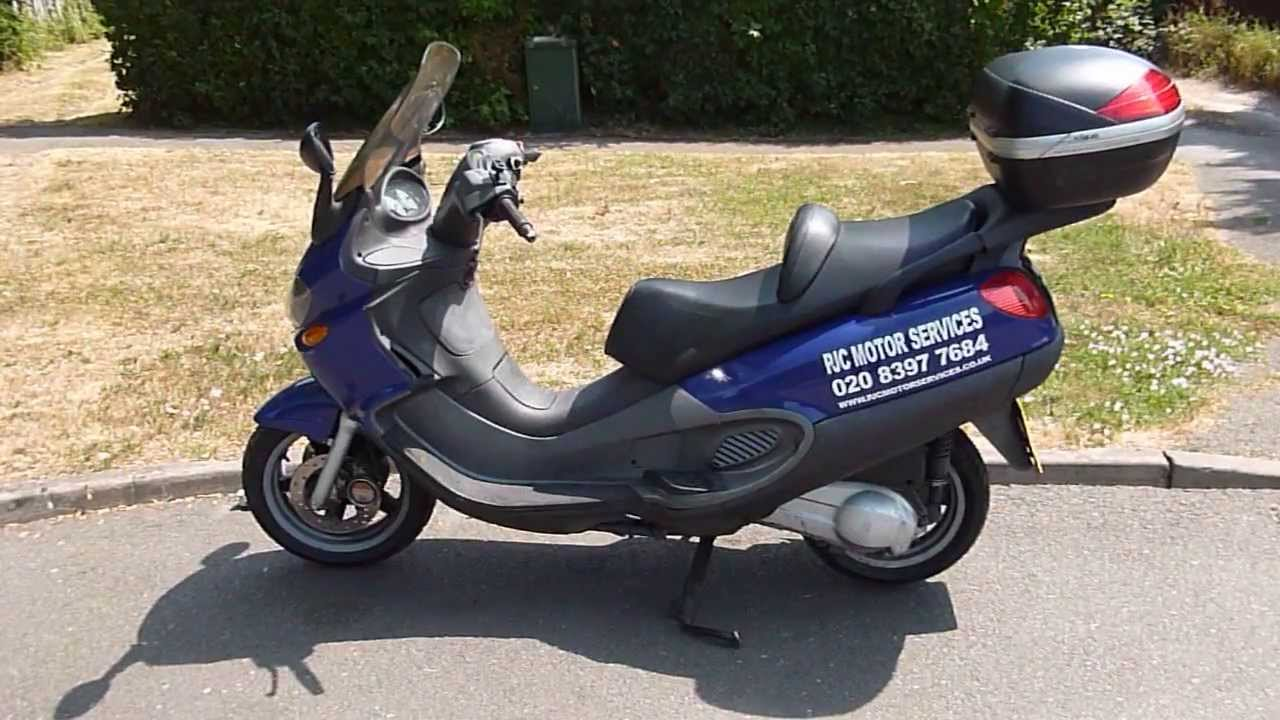 2003 piaggio x9 250 scooter review, walk around, demonstration and