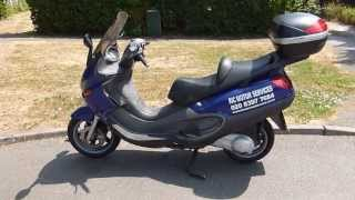 2003 piaggio x9 250 scooter review walk around demonstration and road test