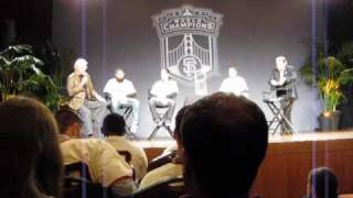 Giants Town Hall Meeting pt 10 (Brian Wilson, Sergio Romo, Tim Lincecum, Emmanuel Burriss)