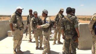 عزل داعش في منبج عن الرقة والحدود التركية