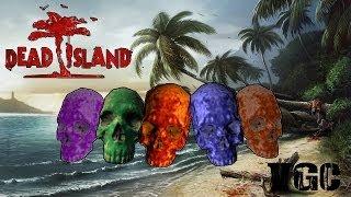 местоположение всех черепов и их алтарей в Dead Island