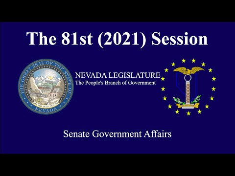 2/24/2021 - Senate Committee On Government Affairs