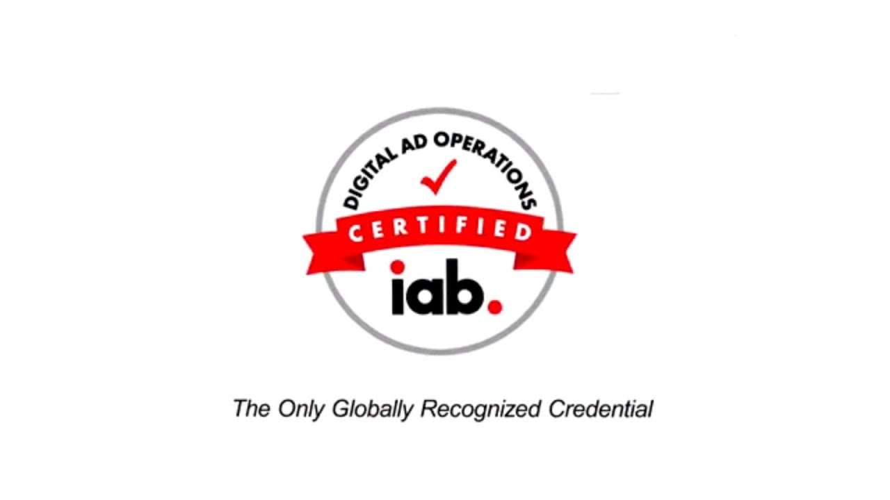 Ad Ops Certification | IAB Digital Advertising Operations